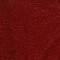 Miyuki Seed Beads 11/0 Transparent Red 11-141 Glass 23g Tube Size 11