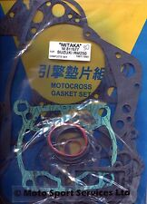 Full Engine Gasket Set Suzuki RM 250 RM250 1991-1993 Mitaka