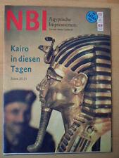 NBI 25- 1969 3* Ägyptische Impressionen Spaltung Deutschland Karte Reiseland DDR