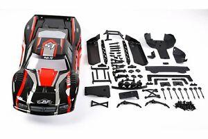 Rovan Baja 5B to Baja 5T Conversion Kit w/ Painted Red/Black Body Shell