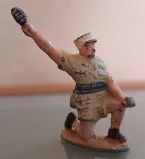 QUIRALU ORIGINAL Légionnaire Grenadier à genoux Tenue sable   Aluminium