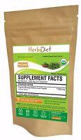 USDA ORGANIC PURE Moringa Oleifera Leaf Powder Premium Quality 100% Natural