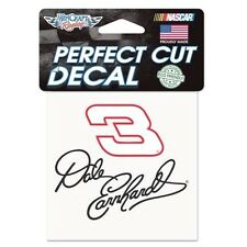 "DALE EARNHARDT SR #3 PERFECT CUT DECAL 4"" X 4"" NEW BY WINCRAFT FREE SHIP"