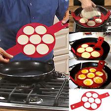 US SHIP Non Stick Flippin' Fantastic Nonstick Pancake Egg Ring Maker Kitchen