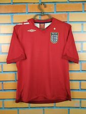 England soccer jersey women Large 2006 2008 away shirt  football Umbro