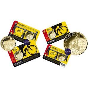 Coincard - Pièce 2,5 euros BELGIQUE 2019 - Tour de France, Le Grand Départ - UNC