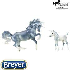 Breyer Traditional – Cascade & Caspian – Unicorns – 1:9 scale – New for 2019