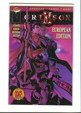 Crimson 1. Premiere Edition /Euro Edition -  Image / Cliffhanger! 1998 - VF / NM