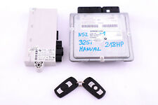 BMW 3 5 Series E60 E90 325i 525i N52 Engine ECU Kit DME CAS2 Keys Manual 7559178