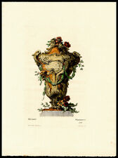 Meissonnier Planter 1862 A Pequegnot Copper Plate Engraving Interior Design