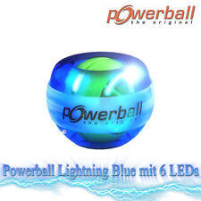 Handtrainer KERNPOWER Original Powerball Lightning Blue 6 LEDs | Unterarmtrainer