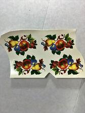 Ceramic decals fruit theme lot of 32