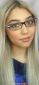 New Mikli by ALAIN MIKLI Black White 52mm Women's Eyeglasses Frame