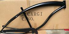 Micargi Slugo 26x4.0 Fat Tire Cruiser 1 speed Frame Chain Guard Shiny black