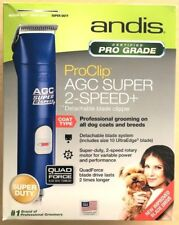 Andis AGC Super 2-Speed Professional Animal Clipper Blue  (22405) Used