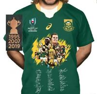 SOUTH AFRICA SPRINGBOKS 2019 RWC CHAMPIONSHIP JERSEY COMMEMORATIVE EDITION