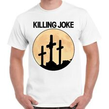 Killing Joke Crosses Moon Punk Rock Retro T Shirt 1779
