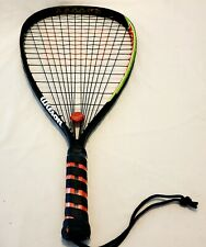 Wilson Krusher Racquetball Racket 200g 107 sq inches Grip 3 5/8 inches