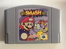 Super Smash Bros N64 Nintendo 64 Cartridge Game Super Mario Cart Only tested