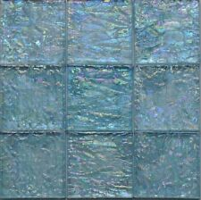 """$1.10/piece Sea Blue 4""""x4""""Glass Mosaic Tile - SPECIAL PRICE"""