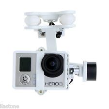 US-Walkera White Plastic Version G-2D Brushless RC Gimbal for GoPro Hero 3