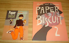 Paper Biscuit #2 VF/NM signed by ronnie del carmen (head of story at PIXAR) rare