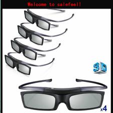 SSG-5100GB SSG-5150GB Lot of 4 New Samsung 4K HD UHD SUHD 3D Active TV Glasses