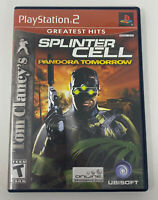 Tom Clancy's Splinter Cell: Pandora Tomorrow (Sony PlayStation 2, PS2) Complete