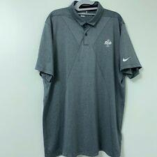 Nike Golf Tour Performance Dri Fit Men's NBC Rio 2016 Olympics Polo Shirt XXL