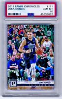 PSA 10 RC Luka Doncic 2018-19 Panini Chronicles #111 Rookie HOT HOT HOT!