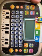 V Tech #1394 Piano Alphabet Computer Activity Tablet toy Needs Battery(b58)