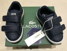 Lacoste Newborn Baby Boys Shoes Navy New