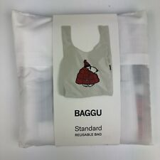 BAGGU Nylon Reusable Tote Bag SNOOPY PEANUTS COLLECTIBLE Standard Size SOLD OUT