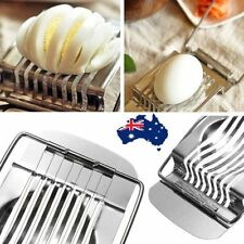 Stainless Steel Boiled Egg Slicer Section Cutter Mushroom Tomato Cutter Kitchen