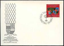 Liechtenstein 1968 Argent Mariage FDC First Day Cover #C16561