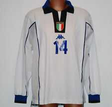 maglia italia match worn kappa friendly Prototipo equipment pro issued DEL PIERO