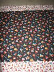 Multicolored Construction/Truck Double-sided Cotton/Flannel Baby/Toddler Blanket