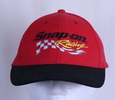 Snap-On Tools Racing Black Red Ball Cap Trucker Hat Adjustable