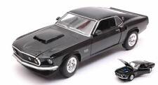 Ford Mustang Boss 429 1969 Black 1:24-27 Model 24067BK WELLY