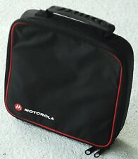 Motorola Black Carrying Case for 2-Way Radios Portable Electronics Walkie Talkie