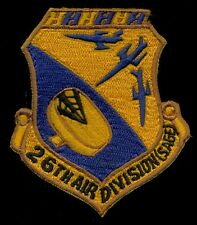 USAF 26th Air Division (SAGE) Patch S-11
