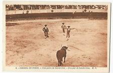 Bullfighting/Corrida de Toros - Una par de banderillas - Vintage postcard