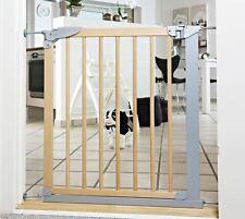 BabyDan Designer Extra Narrow Wooden Pressure Fit Baby Stair Gate 69.1-75.8cm