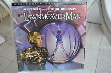 THE LAWNMOWER MAN Jeff Fahey Pierce Brosnan Widescreen Edit. LaserDisc FREE POST
