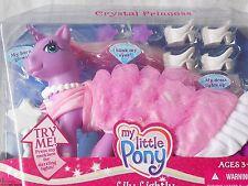 My Little Pony lirio ligeramente - 2006 Cristal Princesa Luz Unicornio, Hasbro