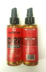 Walker Tape C-22 Adhesive Remover Solvent for Scalp & Wig Hair System 4oz(2PACK)