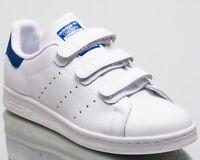 adidas Originals Stan Smith CF Men New Sneakers Mens White Royal Shoes S80042