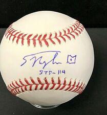 Soichi Noguchi Signed Official MLB Baseball Beckett F96344 Japanese Astronaut