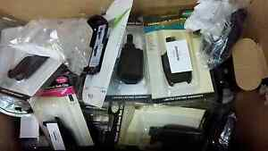 Over 100 Assorted Cell Phone Holsters with Swivel Belt Clips - NEW