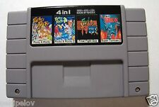 Pocky & Rocky+ Pocky & Rocky 2+ Final Fight Guy+ Super Turrican 2- 4in1 SNES USA